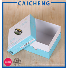 Maßgeschneiderte elektronische Produkte Verpackung Abdeckung Geschenkbox
