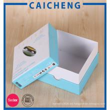 Caja de regalo de la cubierta de empaquetado de los productos electrónicos por encargo