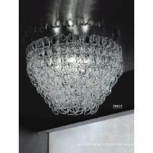 Nuevo estilo moderno techo de cristal de iluminación del hotel (763c3)