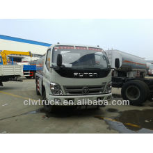 Low Price Foton 5tons fuel tank truck, fuel oil truck for sale