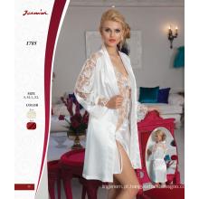 Satin & Lace Nightdress conjunto de duas peças