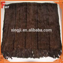 100% Genuine Mink Fur Blanket