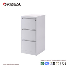 Orizeal 3 Drawer Filing Cabinet with Anti Tilted Lock (OZ-OSC024)