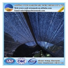 double sided retractable awnings hdpe sunshade netting