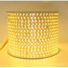 A decoração conduziu luzes de tira, luz da corda, alta tensão 110V-120V, luz de tira de SMD 2835 60Led / M CCT