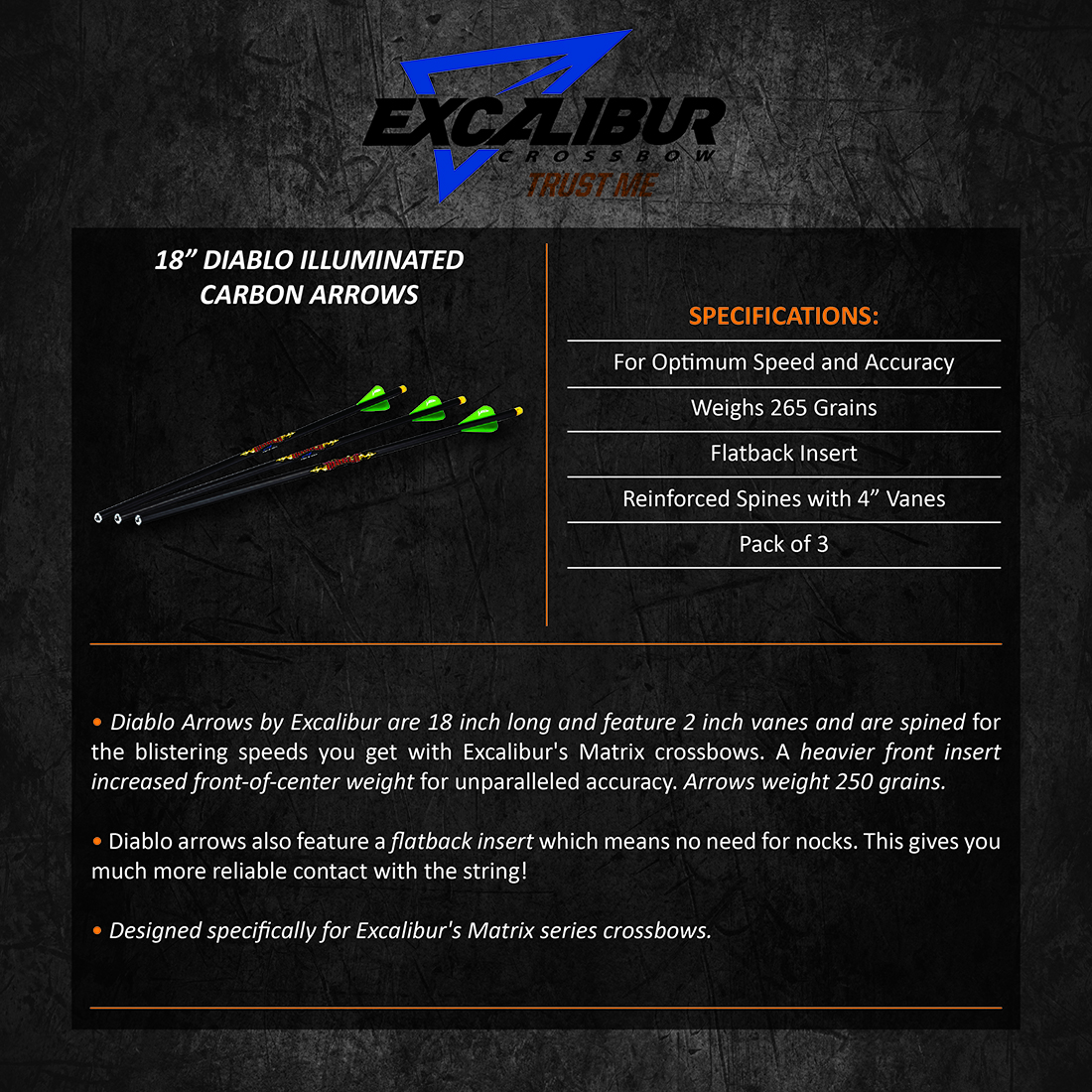 Excalibur_Diablo_Illuminated_Carbon_Arrows_3pk18in_Product_Description