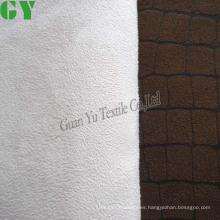 Con cinta de tela del sofá de gamuza de poliéster textiles para el hogar