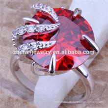 Große Stein Diamant Ehering Sets