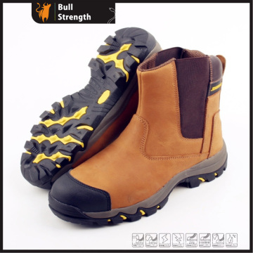 Nubuck Leather Safety Boot with EVA/Rubber Outsole (SN5217)