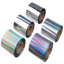 Película de impresión dieléctrica compuesta de aluminio transparente PET