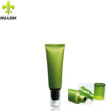 Tubo de empaquetado cosmético de 30 ml tubo de bomba de plástico blando transparente para crema de BB