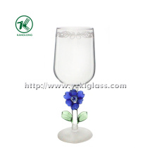 Verre à vin simple par SGS (KL140218-55A)