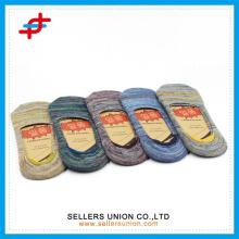 Mens Baumwollsohle flachen Mund unsichtbare Socken