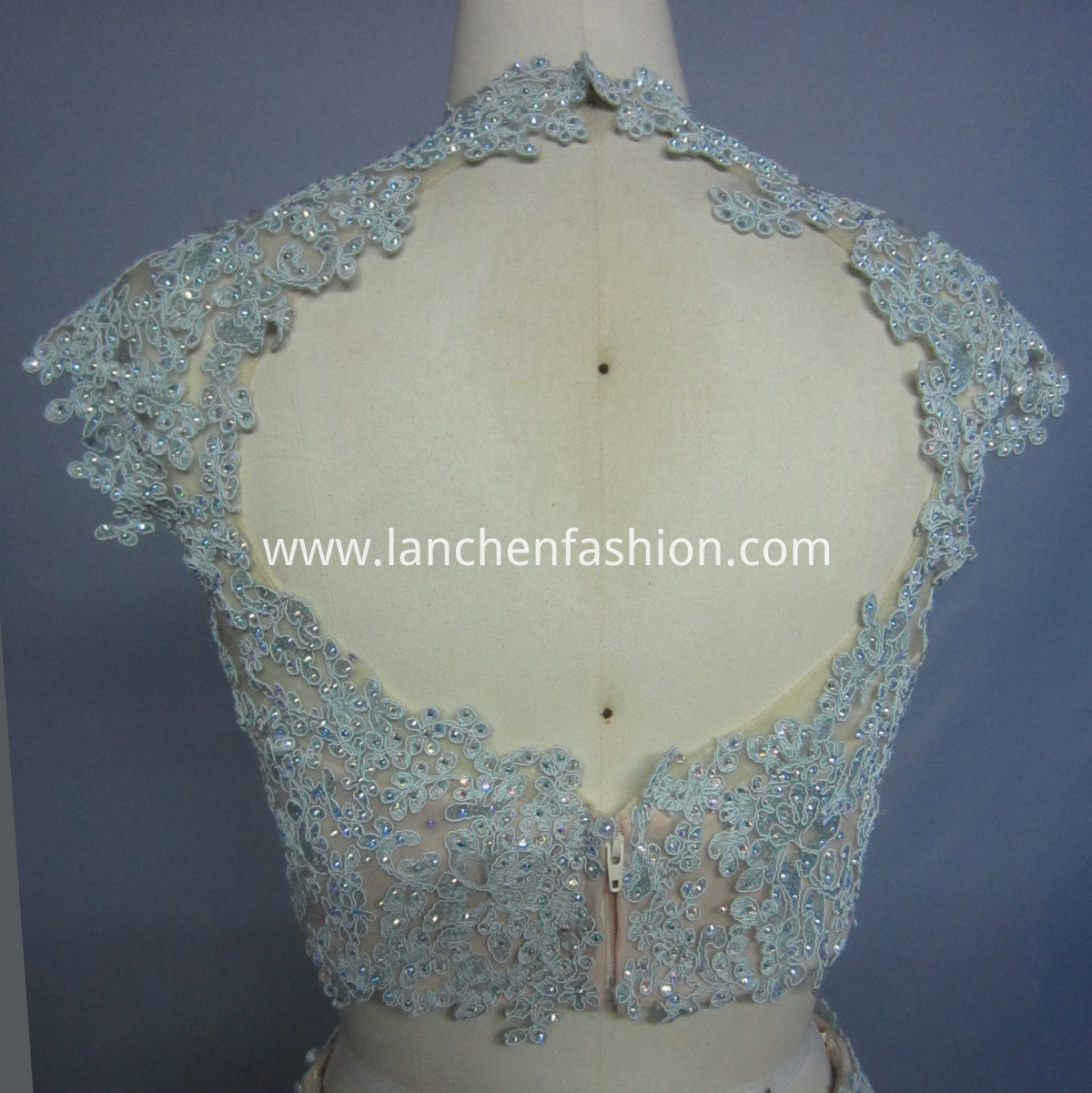 Lace Prom Dresses detail