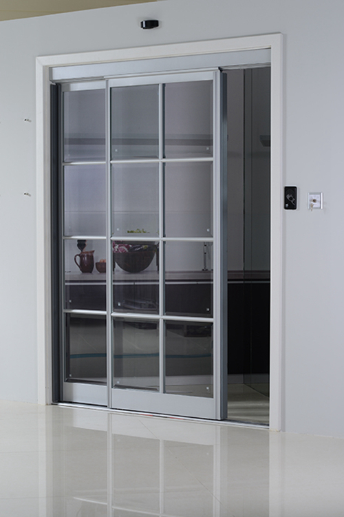 Automatic Interactive Sliding Doors for Kitchens
