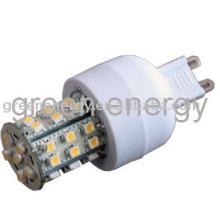 LED G9, 36 LEDs, SMD3528, éclairage LED,
