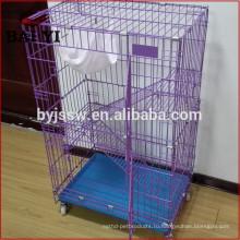 Горячая Продажа металла кошка клетка,большие кошки в клетке популярен в Индонезии