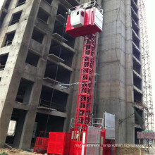 2t Capacity Construction Elevator by Hsjj Made in China