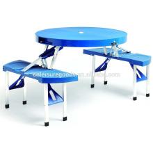 Aluminium strong folding picnic table