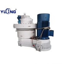Yulong rice husk pellet machine from rice mill