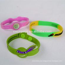 Werbe Silikon Armband, verstellbare Silikon-Armband, Armband