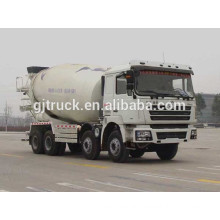 Shacman 8X4 drive concrete mixer truck for 10-14 cubic meter