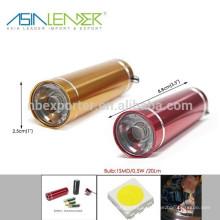 BT-4821, 1SMD 0.5W 20 Lumen Мощный и легкий алюминиевый алюминиевый фонарик
