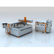 CE certificat CNC jet d'eau de coupe de verre machine / coupeur de jet d'eau pour le verre