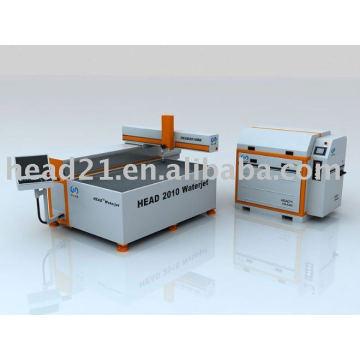 CE-Zertifikat CNC-Wasserstrahl-Glasschneidemaschine / Wasserstrahlschneider für Glas