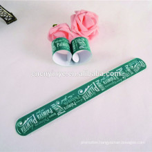 pvc fluorescence snap bracelet wristband for party