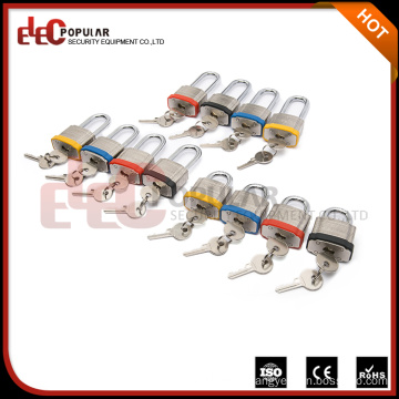 Elecpopular Goods From China Safety Colourful Reinforced Laminated Steel Shackle Lock For Oem Style