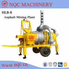 Hlb Series Mobile Asphalt Mixing Plant, 8/10/20/30 T/H