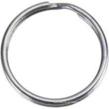 Hardware Metal aço inoxidável soldado anel redondo de latão