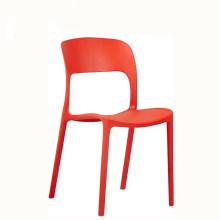 Mode de loisirs bon marché empilant la chaise de jardin en plastique de chaise d'extérieur