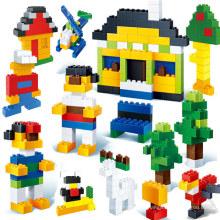 La fábrica de bloques de construcción educativos personaliza el juguete de los bloques