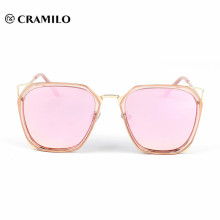 2018 color change metal frame sunglasses sale rainbow color sunglass for men