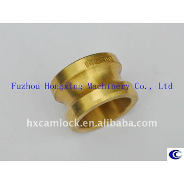 Brass groove quick coupling Type DP