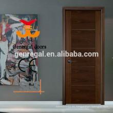 Puerta interior de madera compuesta pintada CE