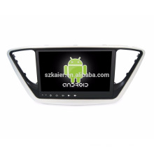 android 7.1 car Gps tracker/auto mutimedia Gps/ Car stereo gps navigation with Quad core Mirror Link for verna
