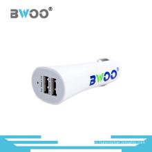 Bwoo Wholesale Mini Colorful 5V3.1A Dual USB Car Charger
