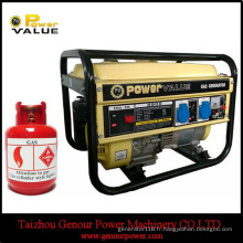 Générateur de gaz d'Astra de la Chine 2kw 2kVA de prix usine pour le ménage