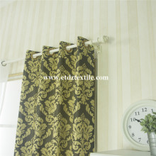 Traditional Miranda Curtain fabric coffee