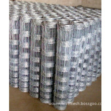 Electro-galvanized Stainless Steel Wire Farm Field Fencing, Grassland Fence For Protecting