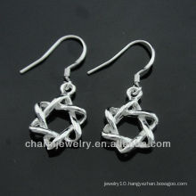 2013 china wholesale fashion jewelry hot sale silver earrings ESA-002