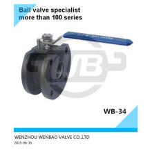 ASTM A216 Wcb Compact Ball Valve Dn125 Pn16