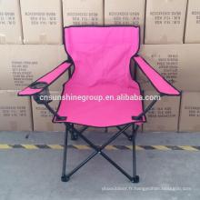 Pliable promotionnels chaise de plage de sable