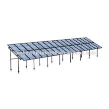 Système de montage PV solaire commercial avec pile à vis