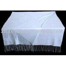 bufanda de cachemira azul