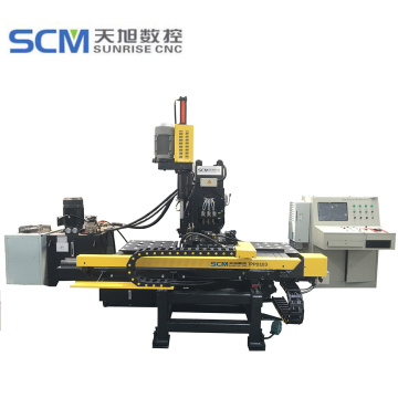 CNC Hydraulic Punching and Drilling Machine