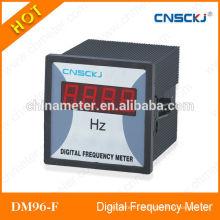 DM96-F medidor de frequência digital visor led